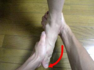 足関節内反ストレステスト